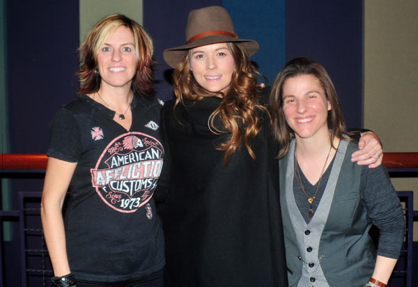 Christine, Brandi Carlile, & Andrea Nardello at Raise the Roof Benefit